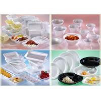 Buy cheap Fast Food PS Foam Tray Simple Design Environmentally Friendly For Wedding Use from wholesalers