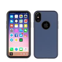Buy cheap Anti-Skid Shockproof Armor TPU PC 2 in 1 Combo Mobile Phone Case Cover For iPhone X 8 7 6 Plus from wholesalers