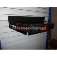 Buy cheap Custom Clothing Retail Store Fixtures Hanging Acrylic Shoe Display Stand Black from wholesalers