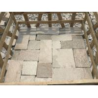 Buy cheap Pink Quartzite Stone Cladding Natural Quartzite Wall Tiles with L Corner Stone Retaining Wall from wholesalers
