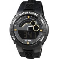 Buy cheap Plastic Germany Gents Digital Watch , Anti-Static Men Round Sporty Watches from wholesalers