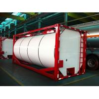 Buy cheap ISO 20ft Insulated Liquid Tank Container Cylinder or Square Shaped from wholesalers