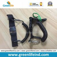 Buy cheap Greenlife New Strong Black Scuba Diving Dive Spring Coil Lanyards from wholesalers