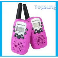 Buy cheap t388 compact walkie talkie pink cheap radio talkies from wholesalers