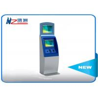 Buy cheap Multifunction interactive information kiosk lobby dual Touch screen kiosk from wholesalers