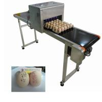 Buy cheap Egg Automatic Batch Coding Machine Printing 120000 Characters Per Hour from wholesalers