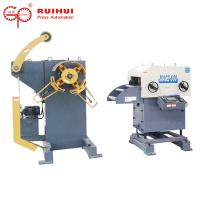 Buy cheap Decoiler Coil Feeder Straightener For Press Feeder With Color LCD Display from wholesalers