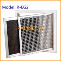 Buy cheap Return aluminium eggcrate air grille,  exhaust air register air vent , air diffuser from wholesalers