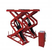 Buy cheap Electric SCISSOR Hydraulic Auto Lift , Garage In-ground Scissor Lift from wholesalers