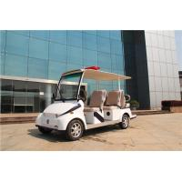 Buy cheap White 6 Passenger Electric Car Golf Cart For 6 Persons With CE Certified from wholesalers