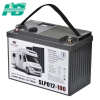 Buy cheap 12V100Ah lithium iron phosphate battery RV battery BMS solar rechargeable lithium battery from wholesalers