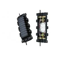 Buy cheap FTTB Vertical Fiber Optic Splice Enclosure Direct Buried , 72 Ribbon Fiber from wholesalers