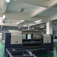 Buy cheap 3.2 Meter Automatic Digital Textile Printer For Bedding / Curtain / Home Textile from wholesalers