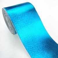 Buy cheap Custom bigh size cheap facotry 3 inch metallic color grosgrain ribbon full pure gold from wholesalers