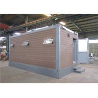 Buy cheap Polyurethene Panel Cost Effective Economical Conex Box Homes As Mobile Toilet from wholesalers