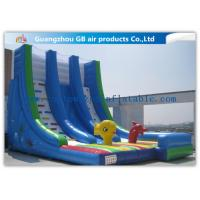 Buy cheap OEM Island Theme Inflatable Water Slides For Teenagers In Graden / Park / Backyard product