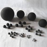 Buy cheap Sealing Floating Silicone Rubber Bal Hard EPDM Rubber Solid Balls Black from wholesalers