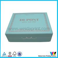 Buy cheap Matt Oil Press Pantone Color Printing Paper Packaging Boxes with Silver Stamping from wholesalers