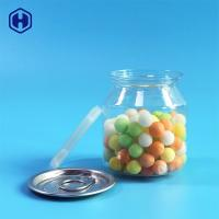 Buy cheap Food Safe Clear Plastic Cans Snack Candies Pacing  Plastic Cylinder Container from wholesalers