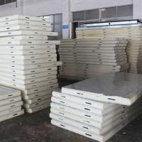 Buy cheap Best quality and high desity Pu sandwich panel from wholesalers