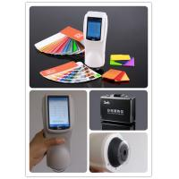 Buy cheap 3nh brand NS810 portable spectrophotometer for microfiber fabric color test from wholesalers