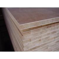 Buy cheap Large Pine Core Wood Laminated Block Board For Making Long Book Shelves from wholesalers