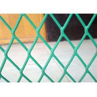 Buy cheap Plastic Coated Expanded Metal Mesh Fence For Highway Protection System from wholesalers