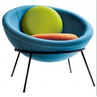 Buy cheap Modern leisure chair Bardi's Bowl Chair fiberglass half ball egg chair from wholesalers
