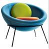 Buy cheap Modern leisure chair Bardi's Bowl Chair fiberglass half ball egg chair from wholesalers