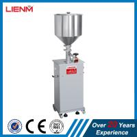 Buy cheap Single Head Semi-automatic Paste Cream Filling Machine bottle/jar filling machine for cream/ointment/lotion from wholesalers