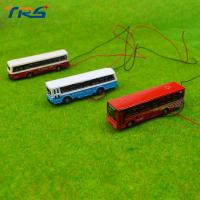 Buy cheap 1:150 model bus Toy Metal Alloy Diecast bus Model Miniature Scale model for train layout scenery from wholesalers