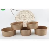 Buy cheap Microwavable Customized Disposable Recyclable Paper Salad Bowls from wholesalers