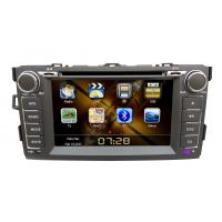 Buy cheap 2 Din 7 Inch Vehicle DVD Players GPS Navigation For Toyota Corolla from wholesalers