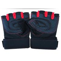 Buy cheap Light Industry Workout Hand Gloves Elastic Cuff Sheepskin Leather Palm from wholesalers