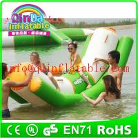 Buy cheap inflatable totter for water sports Inflatable Water Totter Water Seesaw from wholesalers