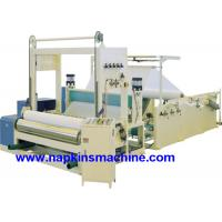 Buy cheap Full Automatic Paper Roll Slitting Rewinding Machine For Napkin / Facial Tissue from wholesalers