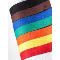 Buy cheap Brown , Orange Taekwondo Color Belts in martial arts in Single Color from wholesalers