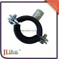 Buy cheap Galvanized Iron Cast Iron Pipe Clamps With EPDM Rubber M8 M10 Nut from wholesalers