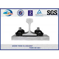 Buy cheap 44 - 48HRC Hardness E Clip Vossloh Fastening Systems Bitumen Dacromet from wholesalers