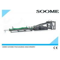 Buy cheap Full Auto Flute Laminating Machine Sheet To Sheet 1500mm Paper Size 6.8T Weight from wholesalers