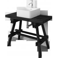 Buy cheap Waterproof solid wood painting floor Bathroom Cabinet Sets Vanity Combo product