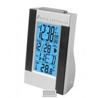 Buy cheap Blue LED Backlight Digital Thermometers BY-3702, Day of Week Displays in 7 Languages product