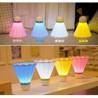 China Badminton lamp,USB Rechargeable table lamp,LED night lamp on sale