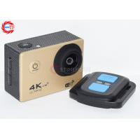 Buy cheap 4K Gold Remote Control Action Camera 1080P 60fps EF60R WIFI Video Camcorder from wholesalers