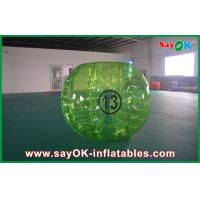 Buy cheap Adults 1.5m Clear Bubble Ball Soccer TPU Eco - Friendly For Rental from wholesalers