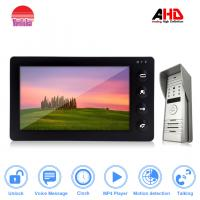 Buy cheap Hot ! AHD Visible interphone with 1.3MP resolution support MP3&MP4 from wholesalers