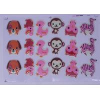 Buy cheap 3D Molds Carton Chocolate Transfer Sheets , Panda Shaped Cake Decoration from Wholesalers