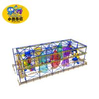 Buy cheap High Hexagon Rope Playground Equipment Adventure Park For Shopping Mall from wholesalers