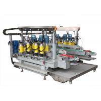 6 Motors Glass Grinding Machine Straight Line Double Edging Machine