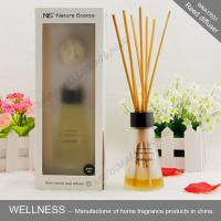 Buy cheap Luxury reed diffuser with clear conical bottle, rigid high-end gift box product